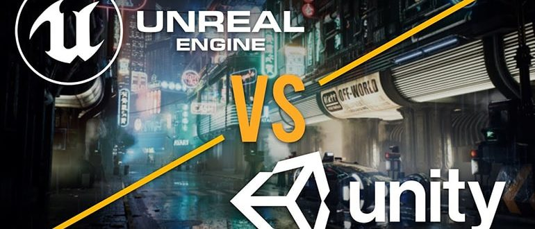 unreal_vs_unity_kursy